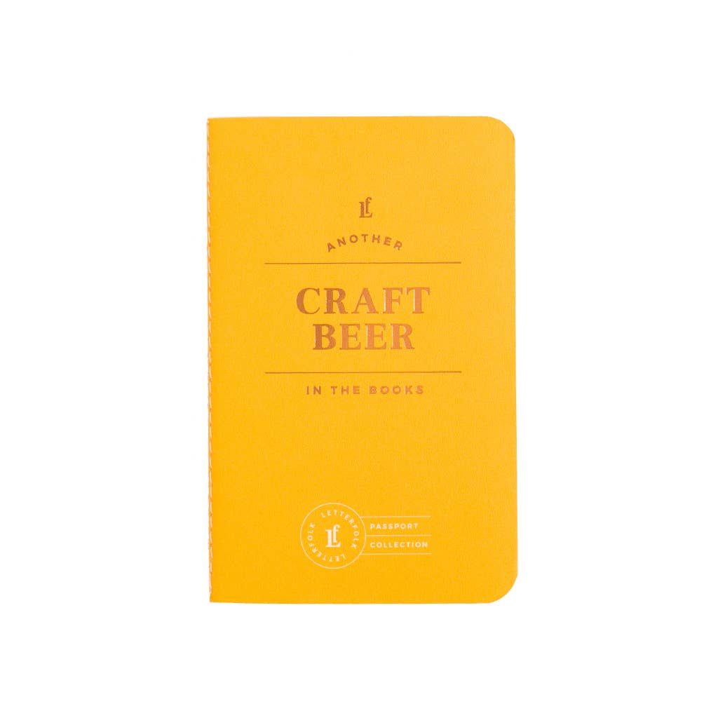 Letterfolk - Craft Beer Passport