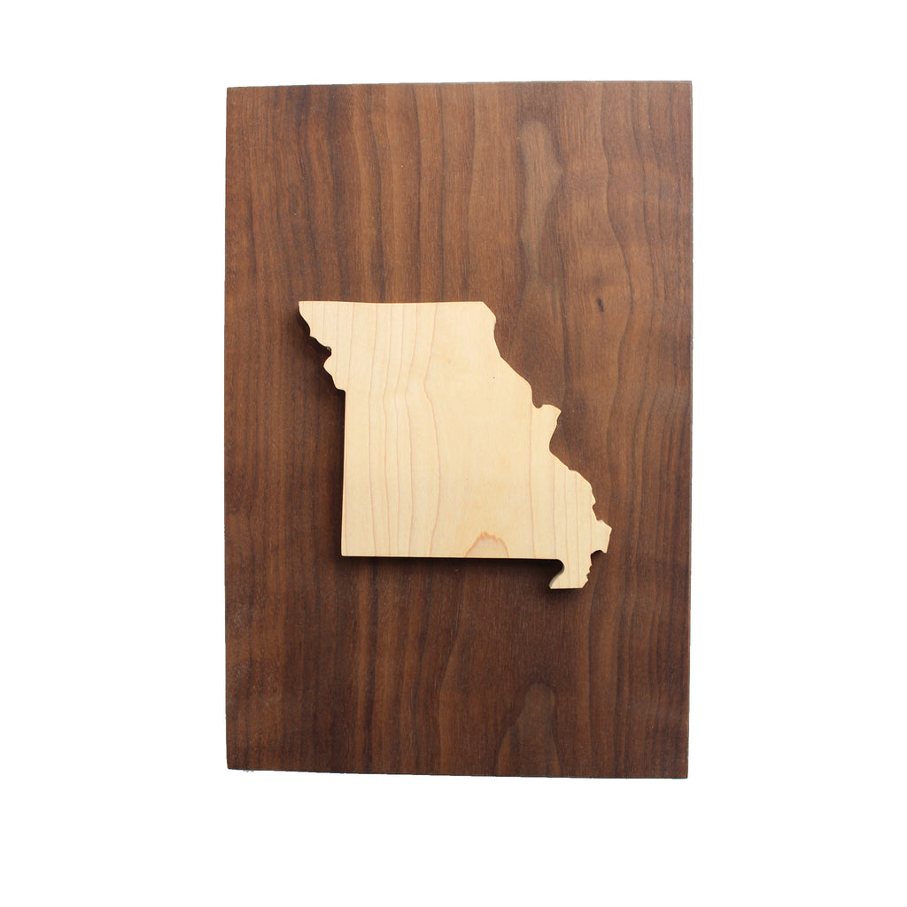 Missouri Wooden Wall Art