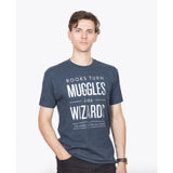 Books Turn Muggles into Wizards Unisex Tee