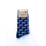 417 Socks - Navy
