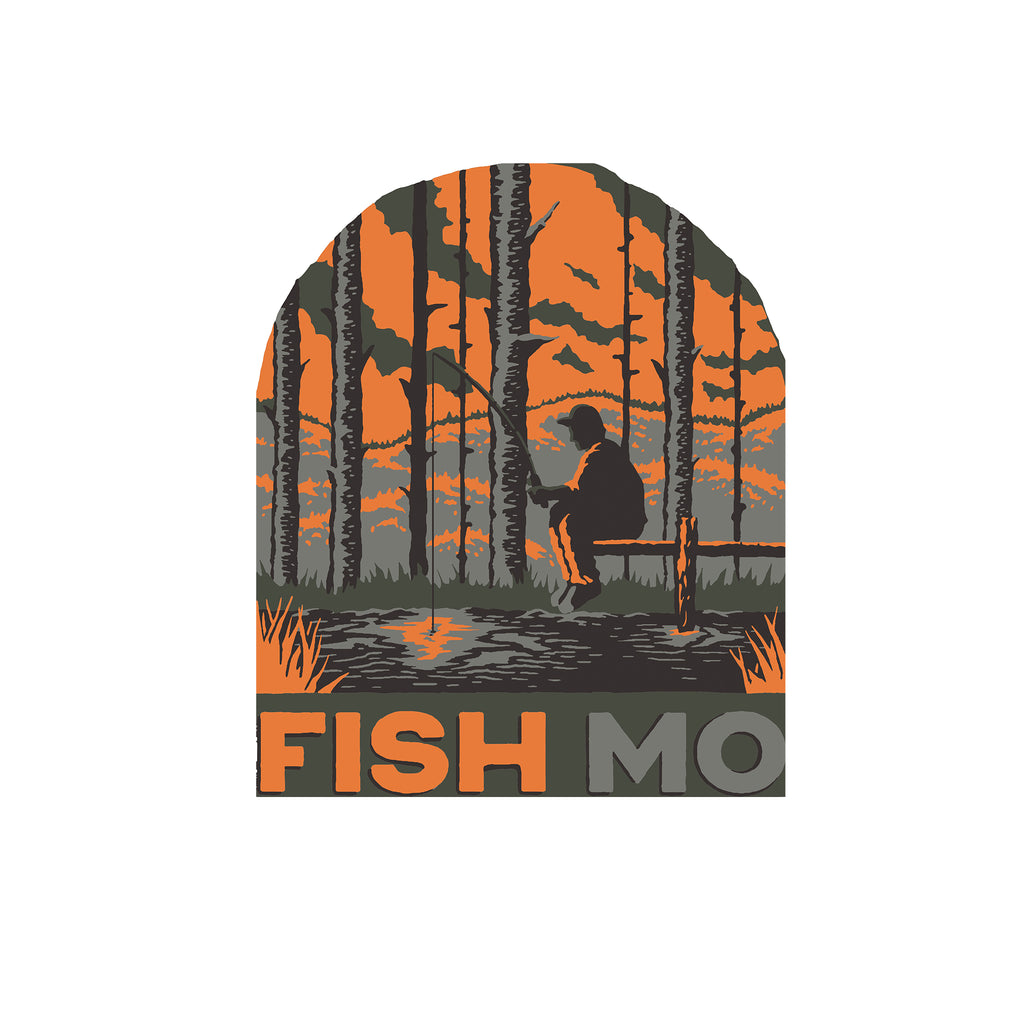 Fish MO 2.0 Sticker