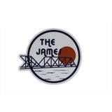 The James Sticker