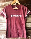 Sports Football V-Neck (Women's)