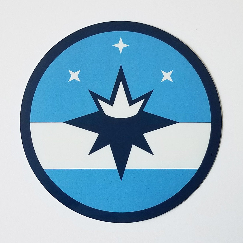 Springfield Flag Roundel Window Sticker
