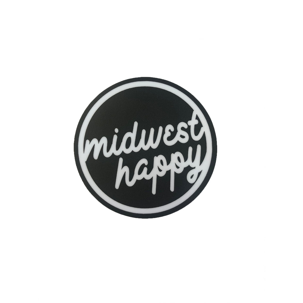 Midwest Happy Sticker
