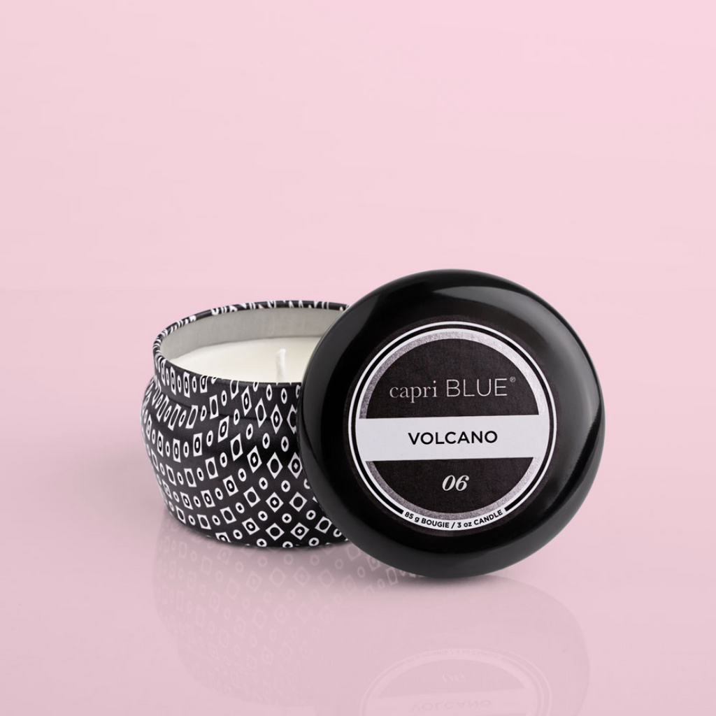 Volcano Black Mini Tin - 3oz