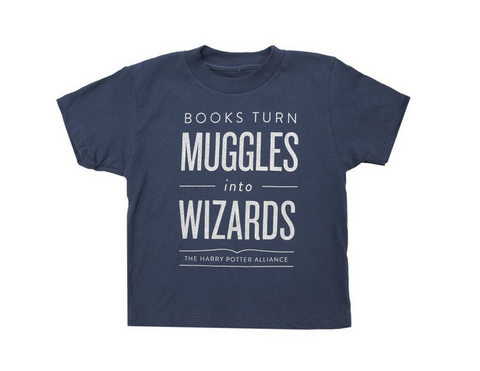 Books Turn Muggles Toddler Tee