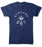 Support SGF Tee + Sticker