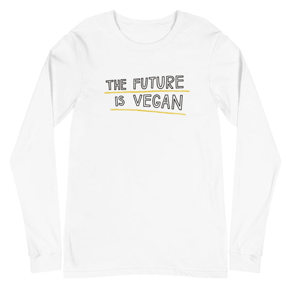 Лонгслив The Future Is Vegan