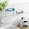Wall Mount Rotatable Soap Holder
