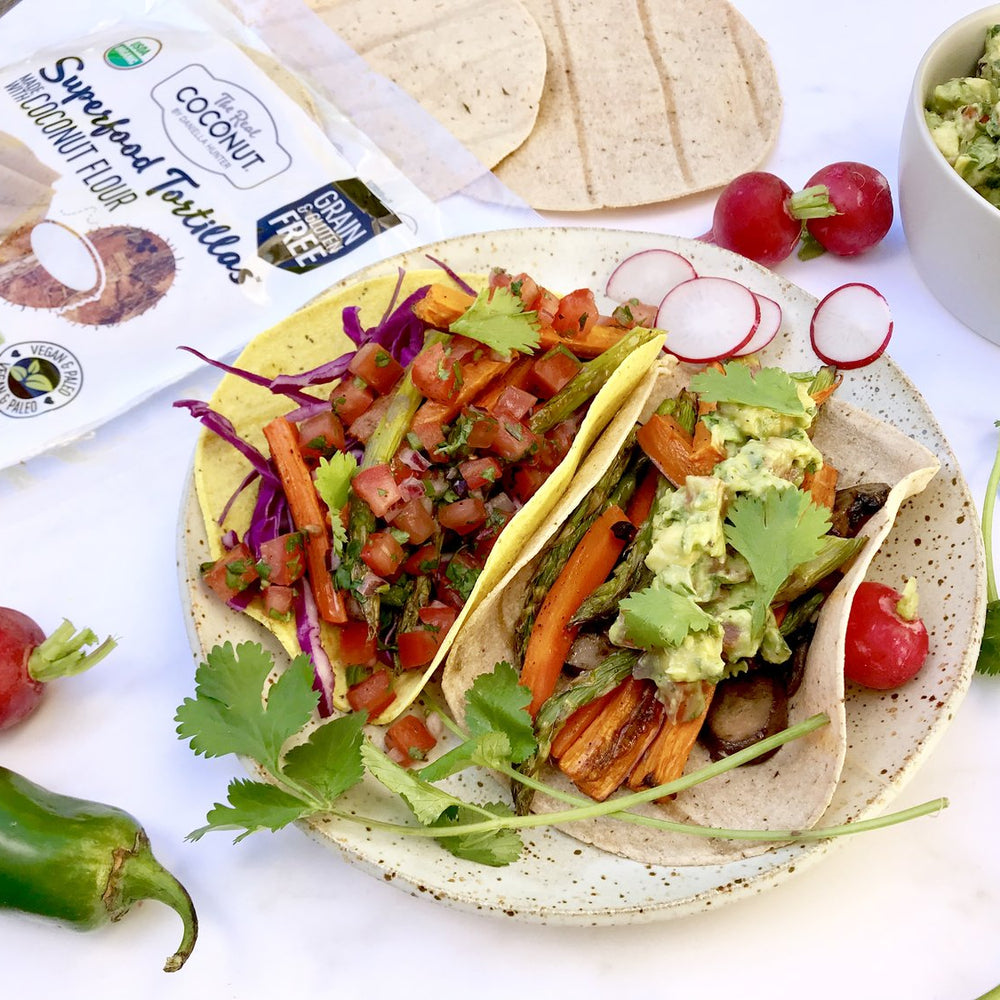 Only Certified Organic Grain Free Tortilla Line