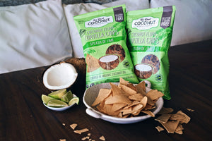 MULTIPACK Organic Coconut Flour Tortilla Chips 155g x 6 Packs