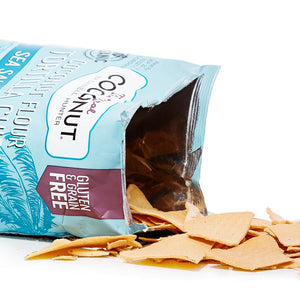 SEA SALT & VINEGAR Tortilla Chips 155g (6 Packs)