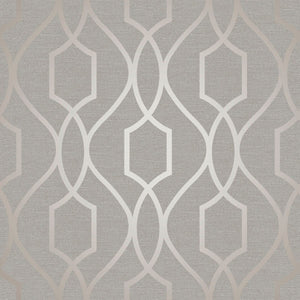 Fine Decor Apex Geometric Trellis Tapet FD41997