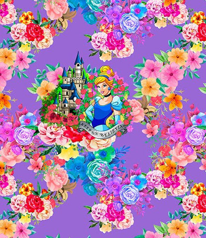 Cinderella Panel - Cotton Spandex