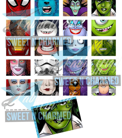 R4 Wovenflash - Mask Panels Large Size  - Available Now