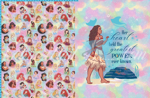 R45 - Moana Topper - Toddler Topper (FH each) Available Now