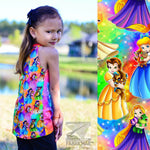 R29 - Princess & Sidekick  - Cotton Spandex Jersey Knit