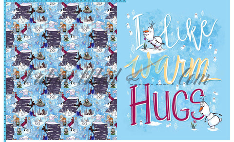 R43 - Warm Hugs - Toddler Topper (FH each)  Available Now