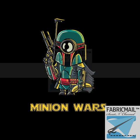 Minion Wars - Panel 1 Boba (sizes available)
