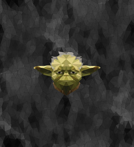 Geo Yoda Tee Panel (sizes available)