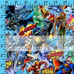 R30 - Justice Heroes - Cotton Spandex Jersey Knit