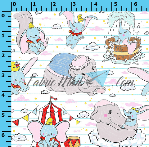 Big Top Notebook (Choose Fabric Base)         Available Now