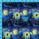 R40 - Starry Night Wizard (Choose Fabric Base) Available Now