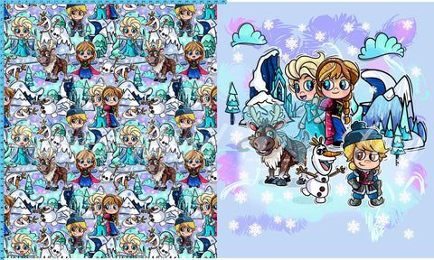 R46 - Winter Wonderland - Toddler Topper (FH each) Available Now