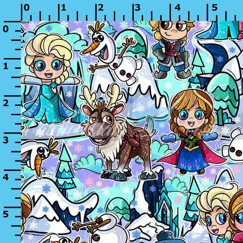 R46 - Winter Wonderland - (Choose Fabric Base) Available Now