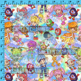 R53 - Rainbowland Tossed - (Choose Fabric Base) Pre Order