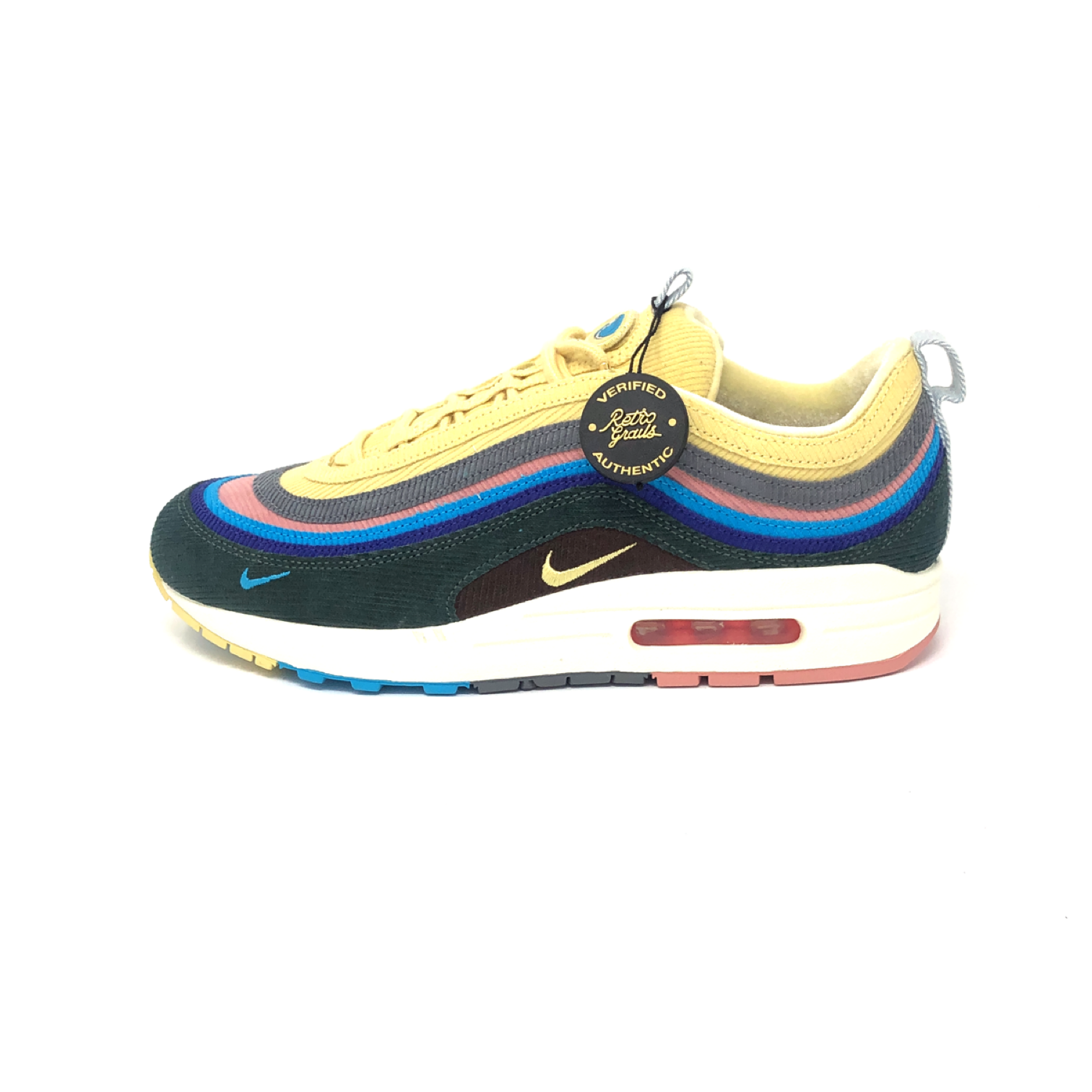los angeles 45a12 5246b Nike Air Max 1/97 Sean Wotherspoon (Extra Lace Set Only)