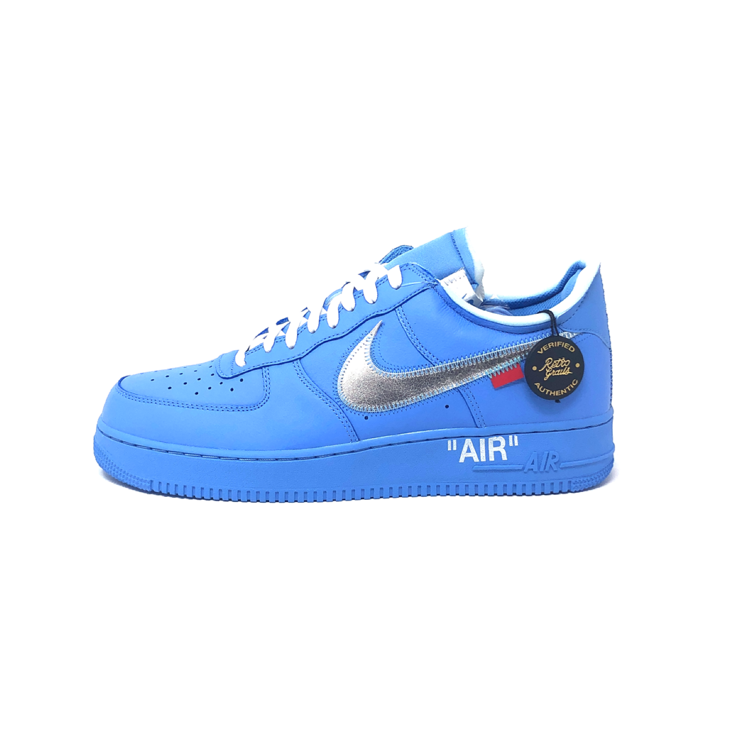 Air Force 1 Low Off White MCA University Blue • BuySell on