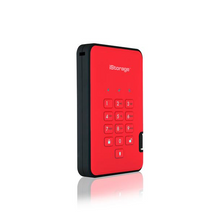 iStorage diskAshur2 - Fiery Red