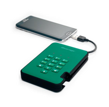 iStorage diskAshur2 - Racing Green