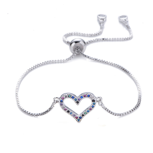 Bracelet Color Heart