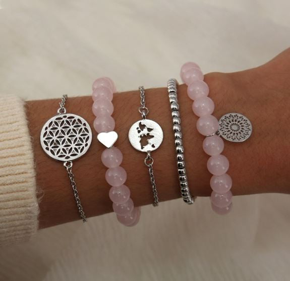 Bracelet Set Flower of Life