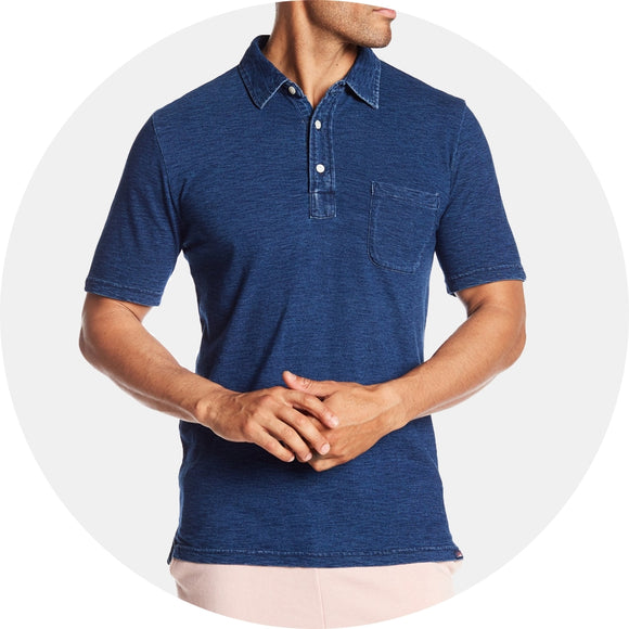 Heathered Cotton Polo
