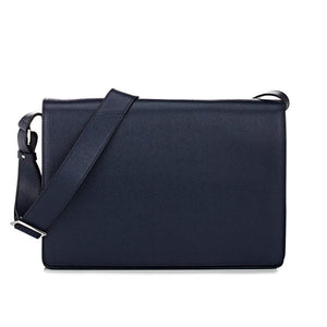 Saffiano Leather Messenger Bag