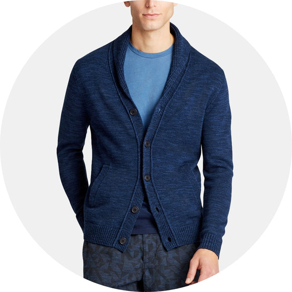Lightweight Cotton Shawl Cardigan
