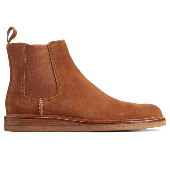 Leather Crepe Sole Boot