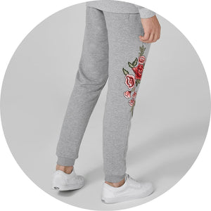 Embroidered Jogger Sweatpants