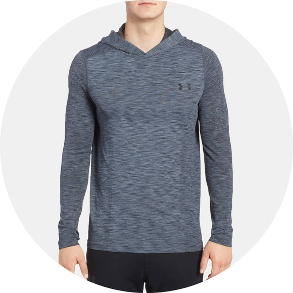 Threadbone Fitted Seamless Hoodie