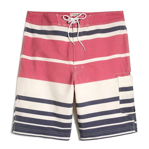 "9"" Flex Striped Swim Short"