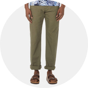 Rinsed Oxford Chino
