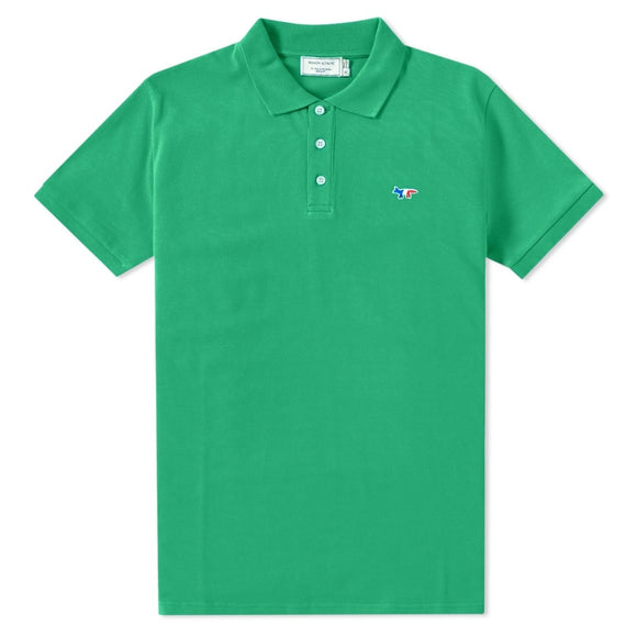 Tricolor Fox Piqué Cotton Polo