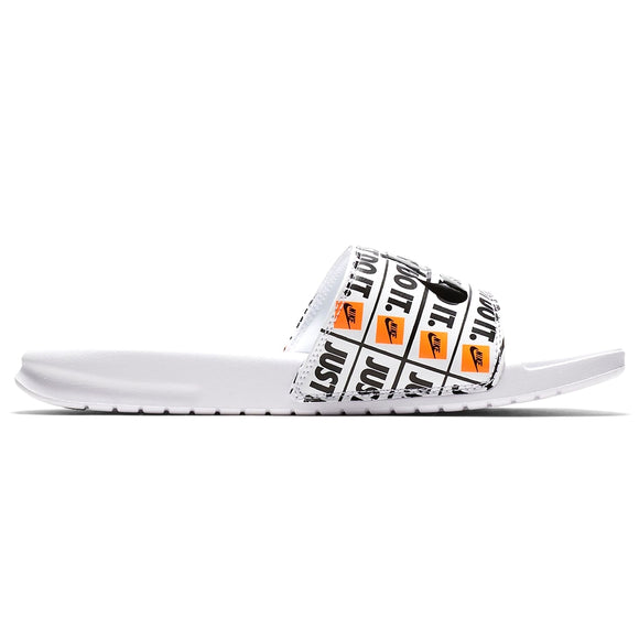 Benassi Just Do It Print Slide Sandal