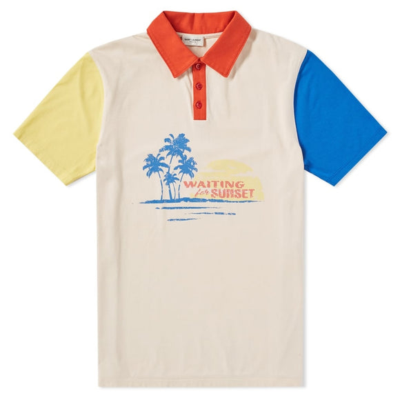 Sunset Cotton Polo