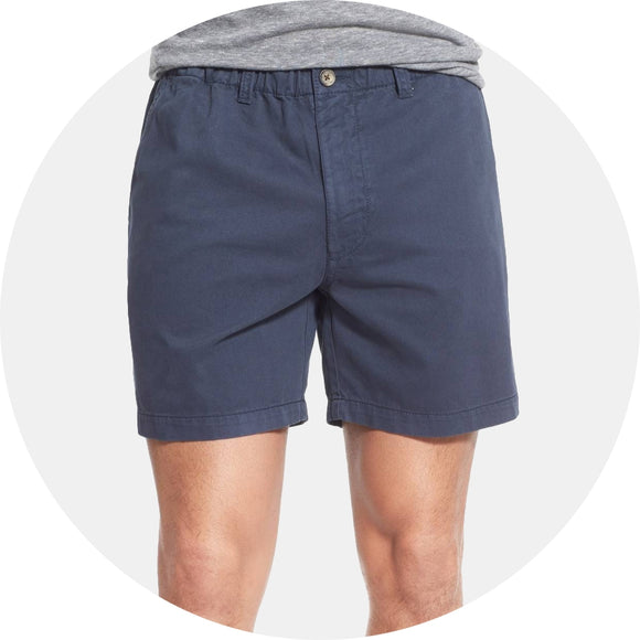 Snappers Vintage Washed Elastic Waistband Short