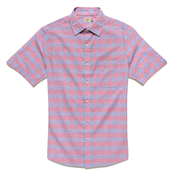 Ventura Faded Rose Buffalo Plaid Shirt